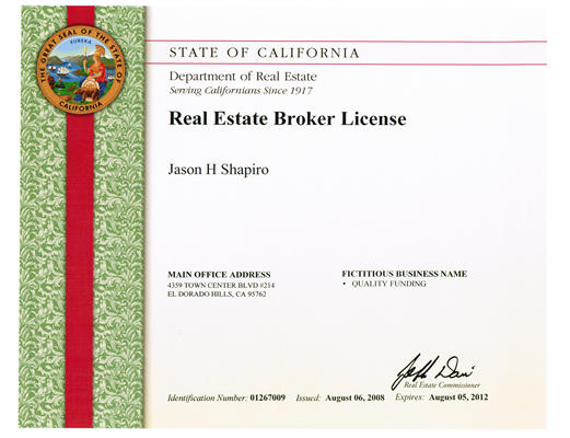 Broker license verification